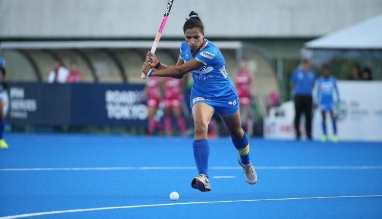 Vandana Katariya of India.(pic:olympics.com)