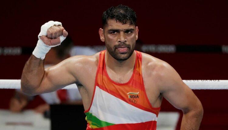 India boxer Satish Kumar.(pic-olympics.com)