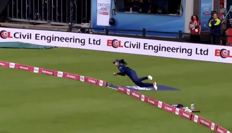 Harleen's jaw-dropping catch dwarfs India's loss.