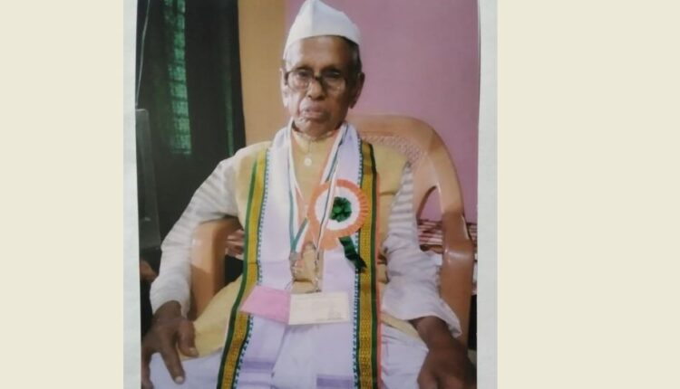 Ishwar Bisoi_freedom fighter