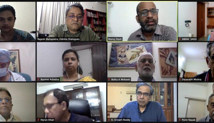 Webinar on Covid Third Wave_odisha dialogues