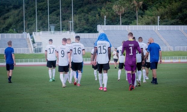 Olympics: German football team leaves ground after player racially abused