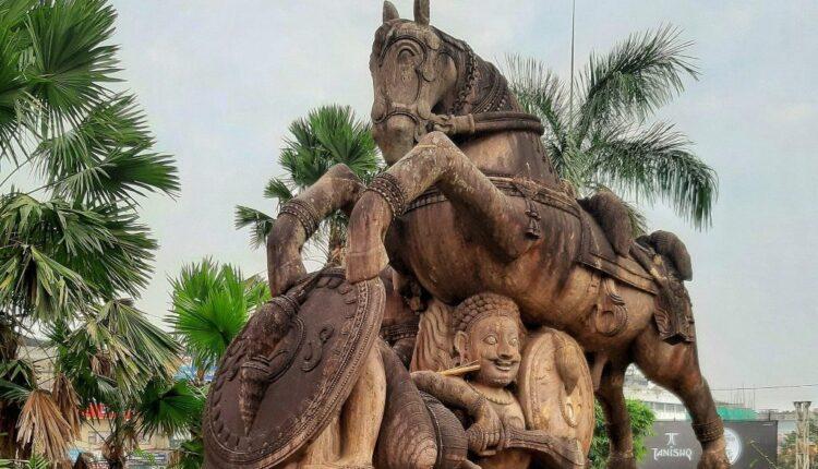 horse warrior replica