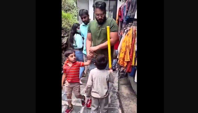 mask boy viral video