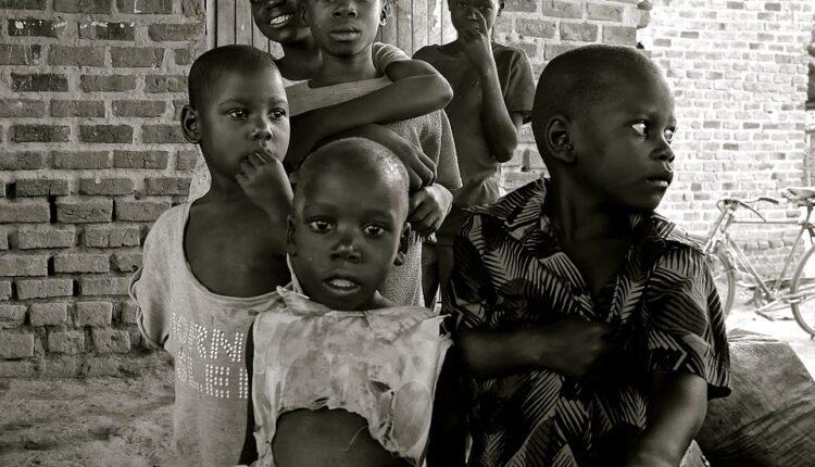 Developing Country Uganda Africa Poverty Children