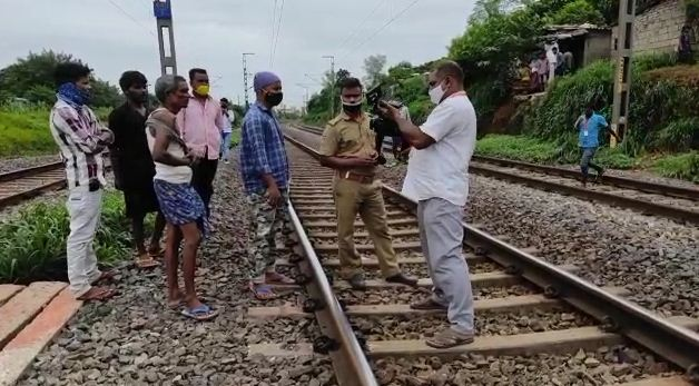 train suicide