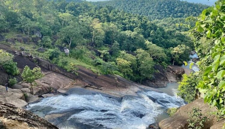 waterfall in kandhamal