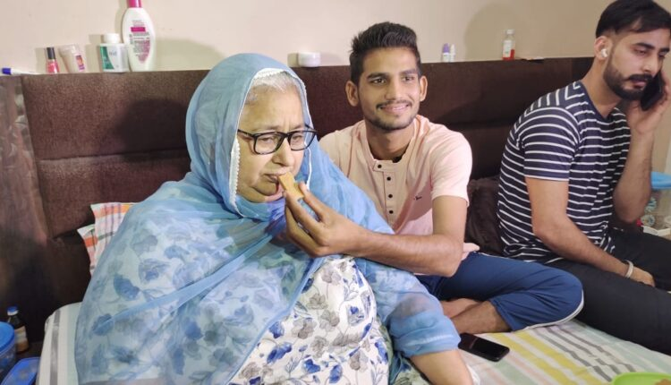 mother of Indian hockey captain Manpreet Singh