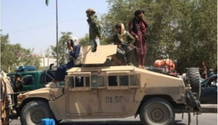 Taliban invasion in Afghanistan
