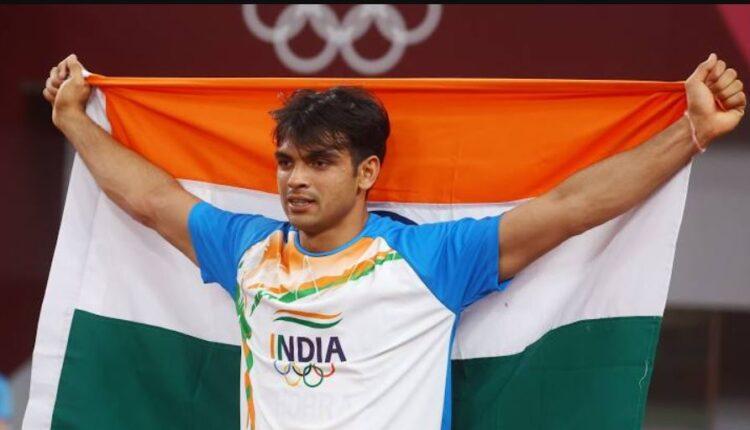 Neeraj Chopra at Tokyo Olympics