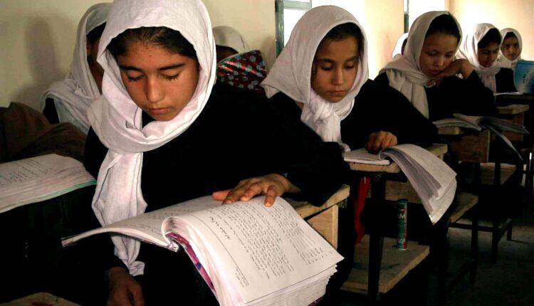 Afghanistan samangan school girls
