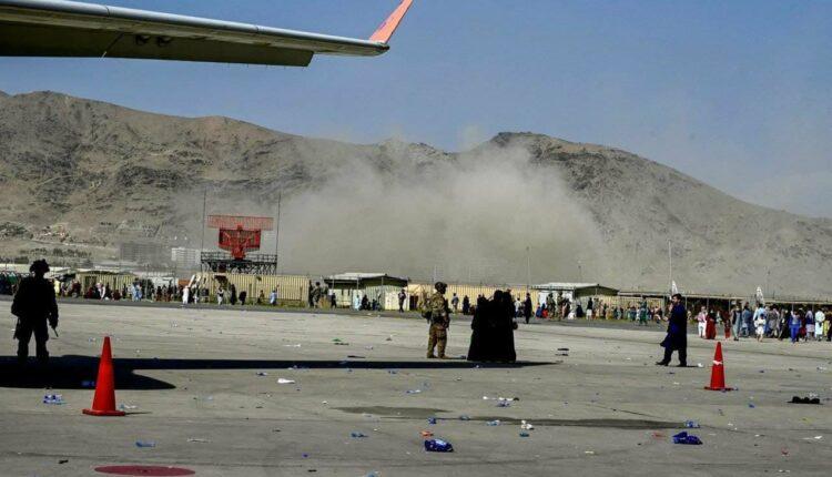 blast at kabul airport