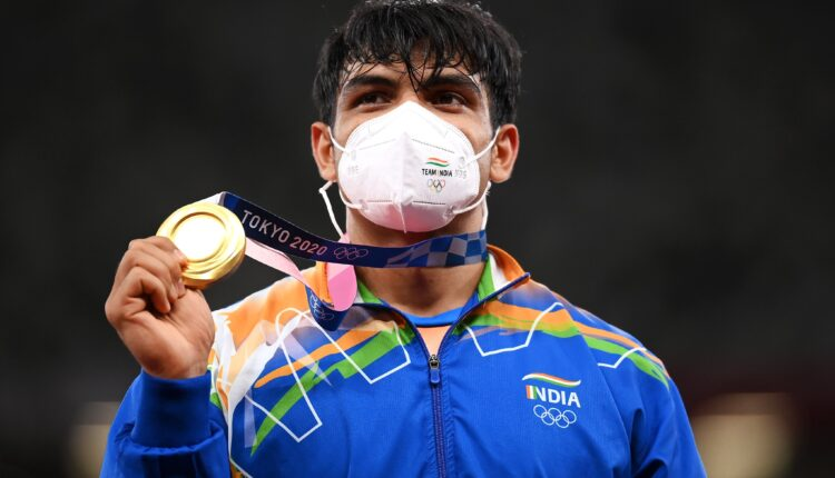 neeraj CHopra wins gold