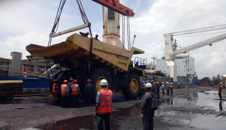 paradip port cargo