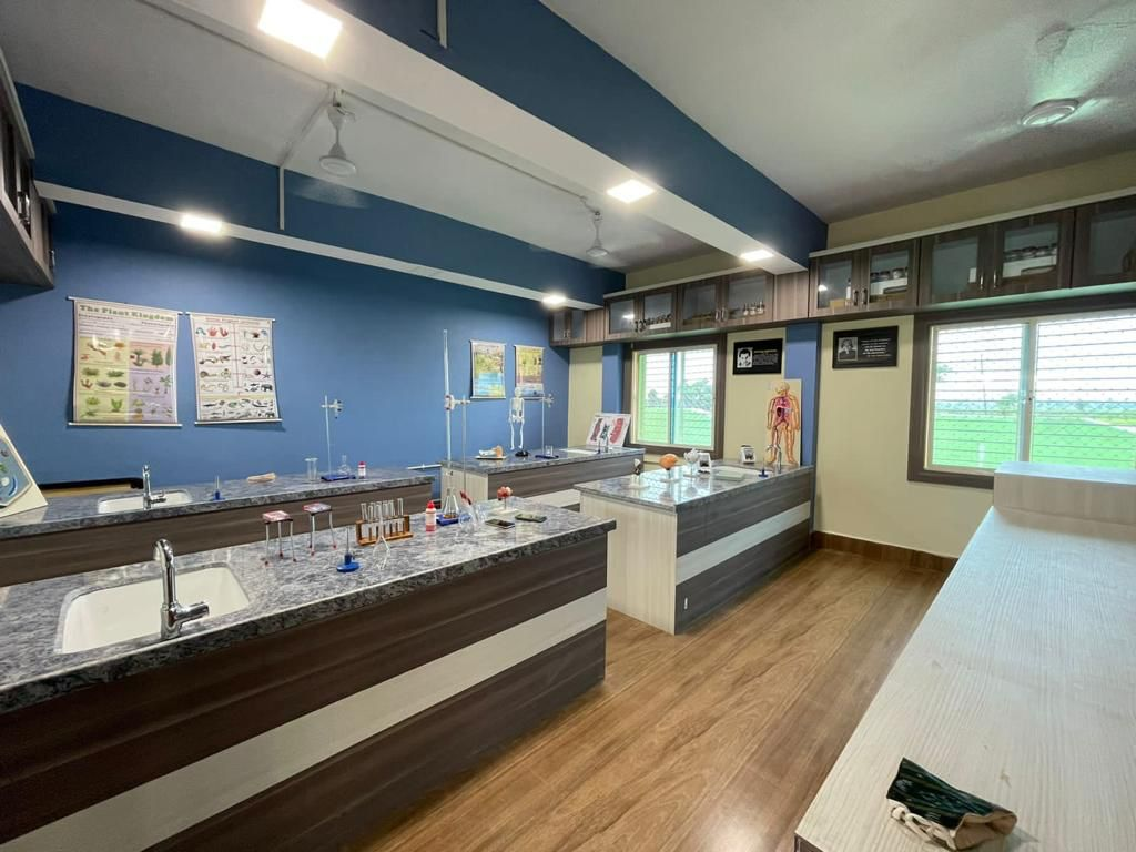 transformed laboratory in school
