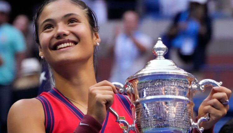Raducanu emerges new US Open women's champion in an all-teen affair.(photo:Twitter)