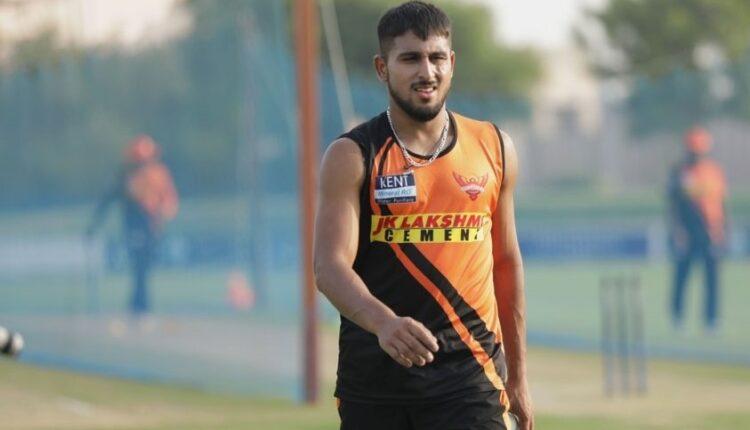 IPL 2021: Umran Malik joins Sunrisers Hyderabad as COVID-19 replacement for Natarajan