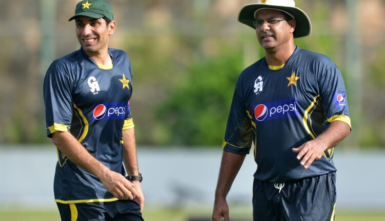 Misbah-ul-Haq and Waqar Younis step down from Pakistan coaching roles.