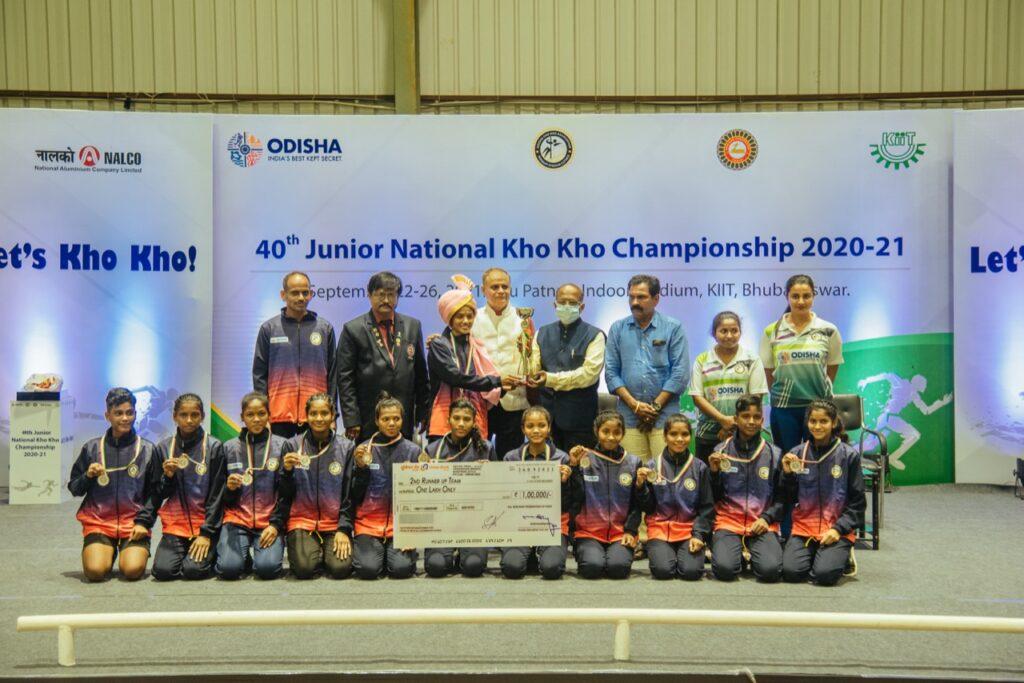 Odisha girls kho kho team