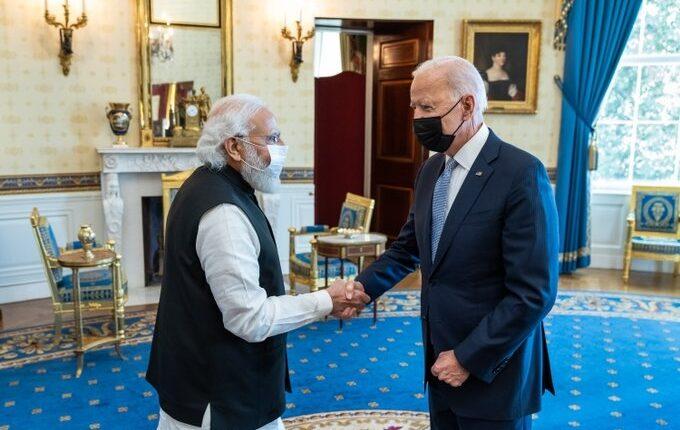 US President Joe Biden and Indian PM Narendra Modi.(Photo : twitter.com/POTUS)