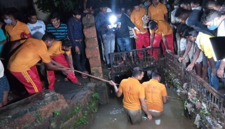 boy drowning in drain_bhubaneswar