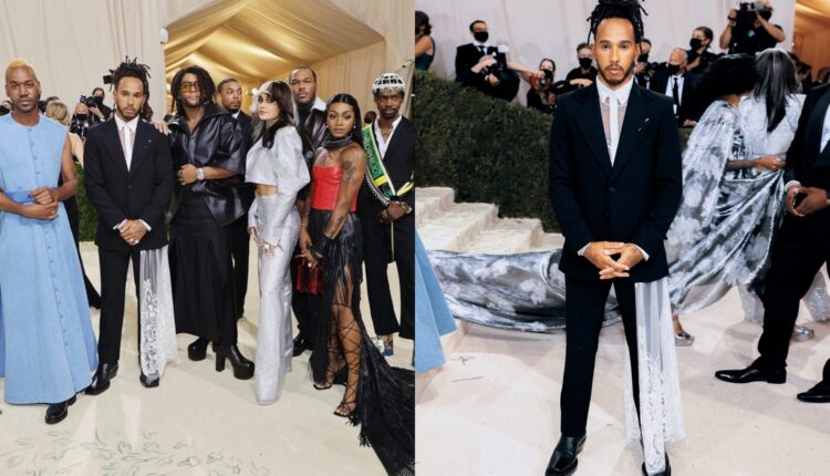 Hamilton courts controversy by supporting 'Black creatives' in Met Gala.