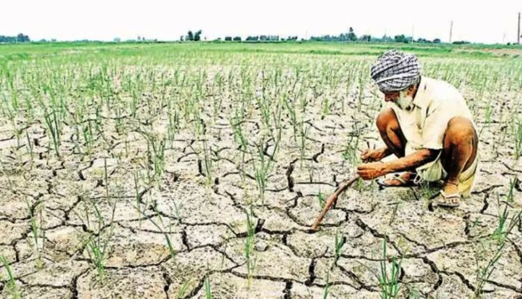 deficit rainfall