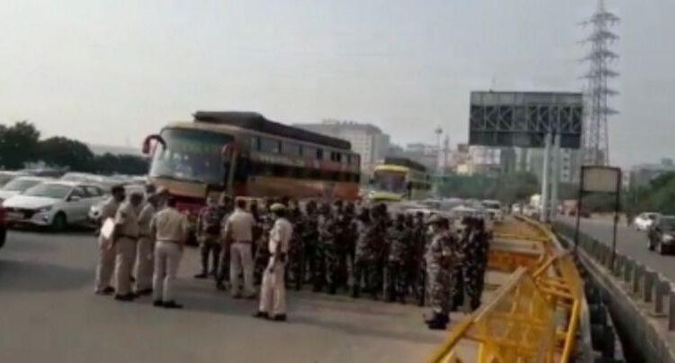 delhi gurugram border