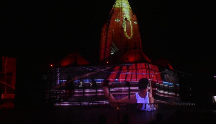 light and sound show at Samaleswari (1)