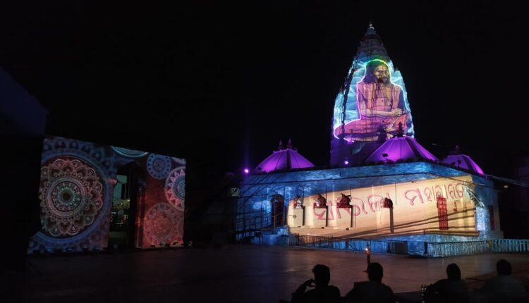 light and sound show at Samaleswari (4)