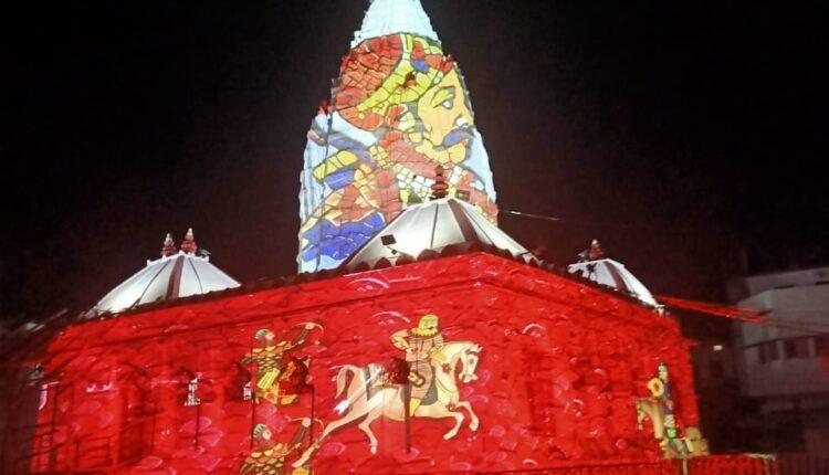 light and sound show at Samaleswari (5)