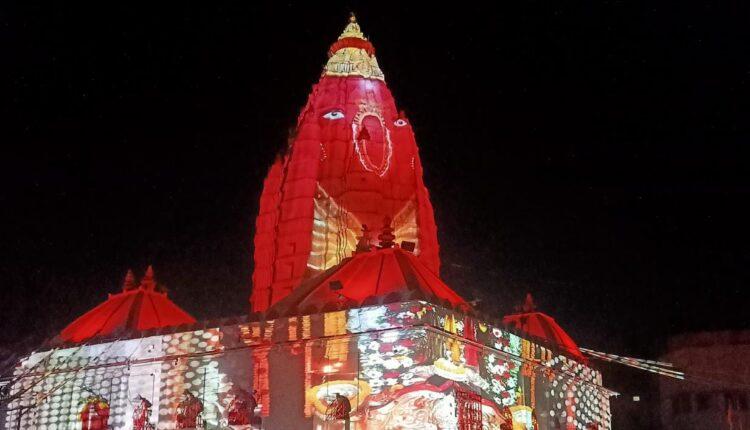 light and sound show at Samaleswari (6)