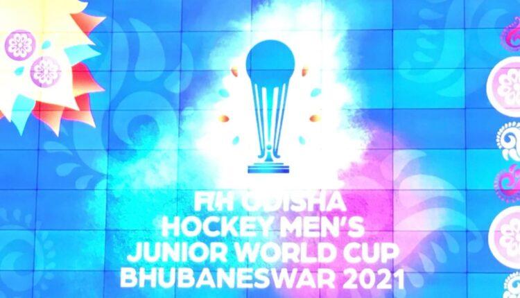men's junior hockey world cup logo