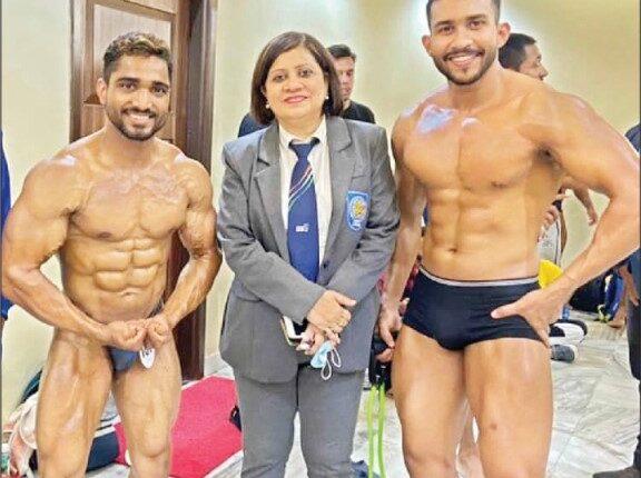 Athletes Chandan and Subham