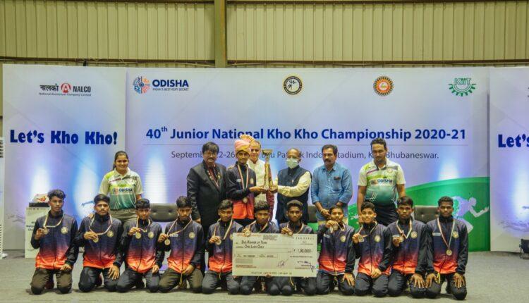 odisha boys kho kho team