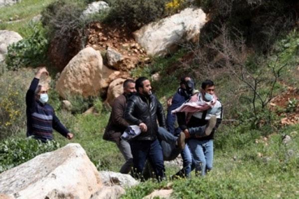 palestinian-protestetors