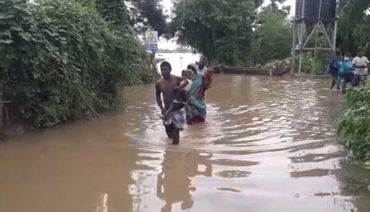 rain-related mishap