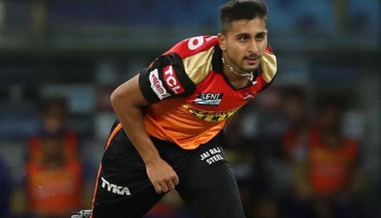 SRH's Umran Malik bowls fastest ball by an Indian pacer in IPL 2021