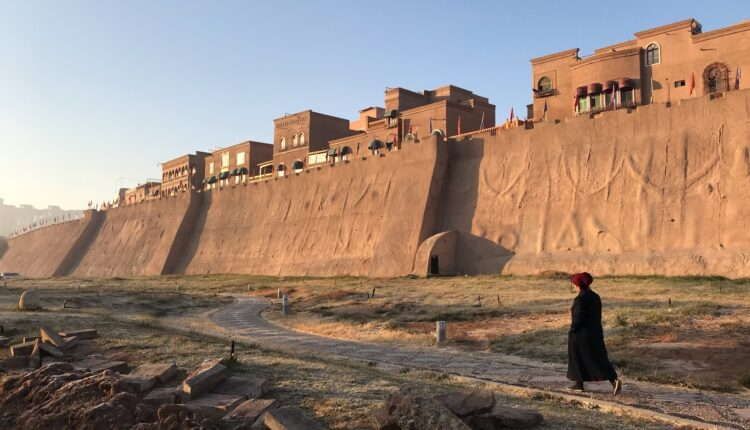 : The old town in the western Chinese city of Kashgar in the Tarim Basin region of Southern Xinjiang Photo: Simina Mistrenau/dpa/IANS