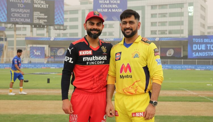 Virat Kohli and Mahendra Singh Dhoni(Photo: IPL Twitter)