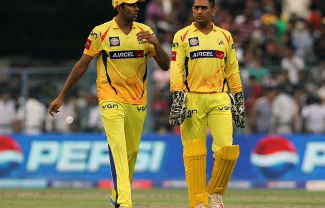 Dhoni scolded Ashwin