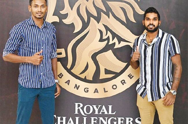 IPL 2021: Bangalore release Hasaranga and Chameera from team bio-bubble